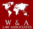 W & A Law Associates Logo